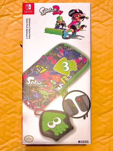 paquete splatoon 2 splat pack para nintendo switch nuevo
