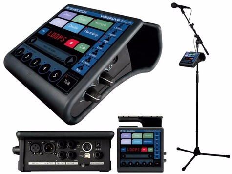 paquete tc-helicon voicelive touch + mic + pedal $12,999.00