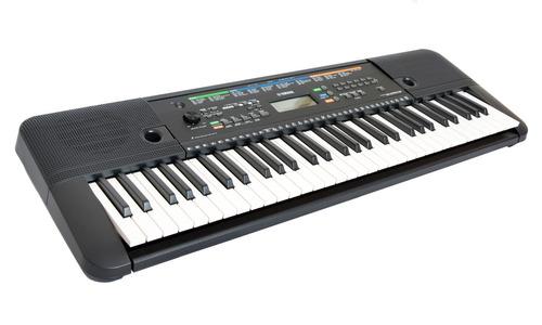 paquete teclado yamaha psre-253 audif/stand/envio a meses