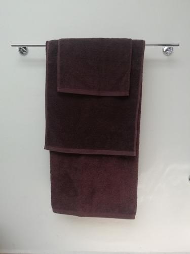 paquete toallas chocolate (facial, de manos y de baño)