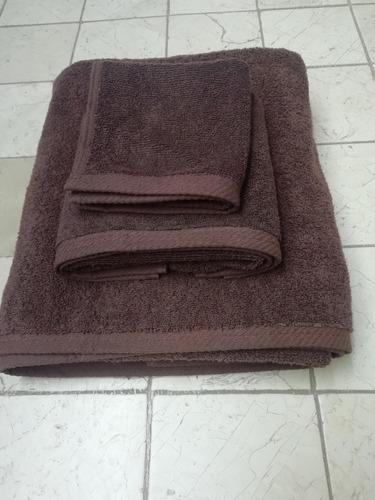 paquete toallas de manos chocolate