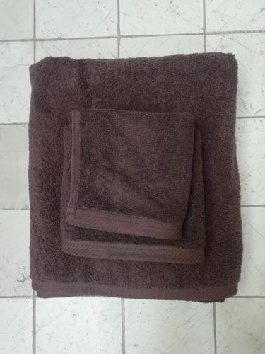 paquete toallas faciales chocolate