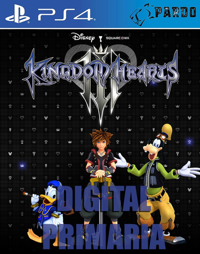 paquete todo en uno de kingdom hearts - ps4 digital - pardo