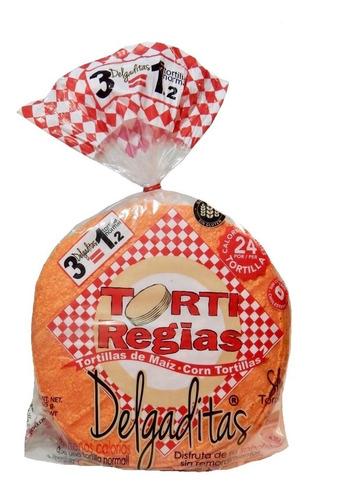 paquete variedad tortiregias (tortillas, tostadas y totopos)