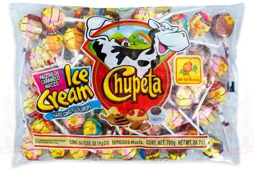 paquete vero chupeta 48 unidades dulces importados