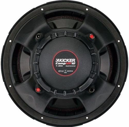 paquete woofer kicker cvr 12 + amplificador ul1400.1 clase d