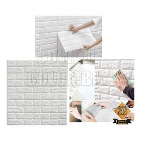 Paquete X 12 Panel Lamina 3d Adhesivo Para Pared Muro Tapiz