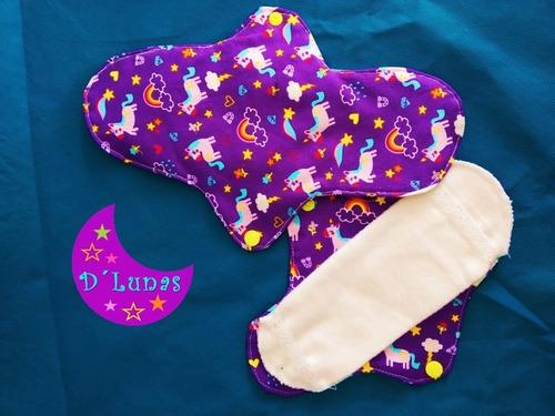 paquetes 5 toallas ecológicas femeninas regular envío gratis