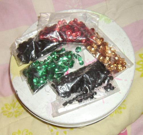 paquetes de lentejuelas