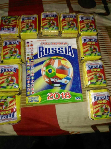 paquetones del álbum gol copa mundial rusia 2018