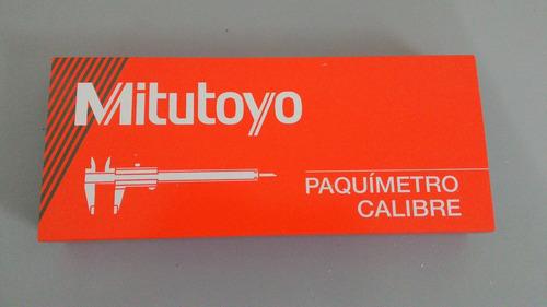 paquímetro analógico 150 mm mitutoyo (guias de titânio)