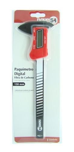 paquímetro digital 150 mm de fibra de carbono . original