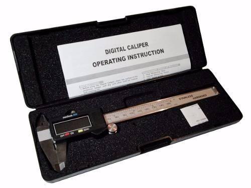 paquímetro digital capac.150mm leitura de 0,01 mm - aço inox