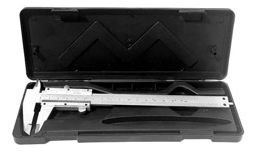 paquímetro universal analógico 6 /150mm em aço 0.05mm