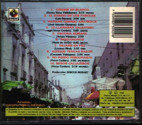 paquita la del barrio y sus boleros románticos cd