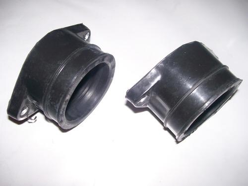 par (2 peças) coletor  admissão carburador honda cb 400 450