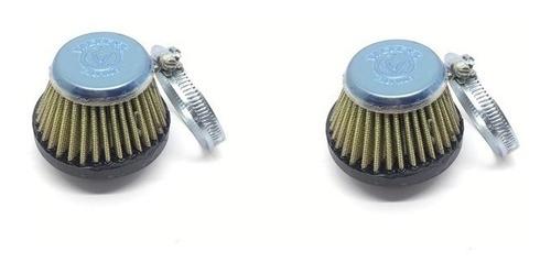 par (2 peças) filtro ar esportivo lavável honda cb 400 450