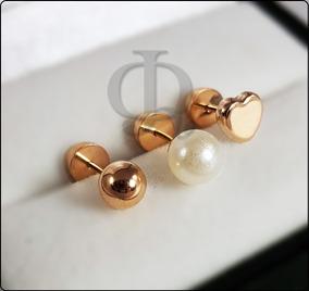 285d0d28e7ab Aros Perlitas De Oro en Mercado Libre Argentina