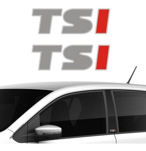 par adesivos emblema de coluna tsi linha volkswagen up! 2017
