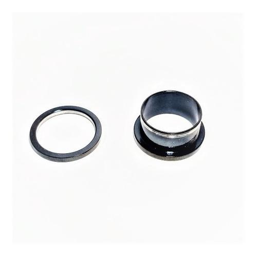par alargador black anodizado 18mm rosca