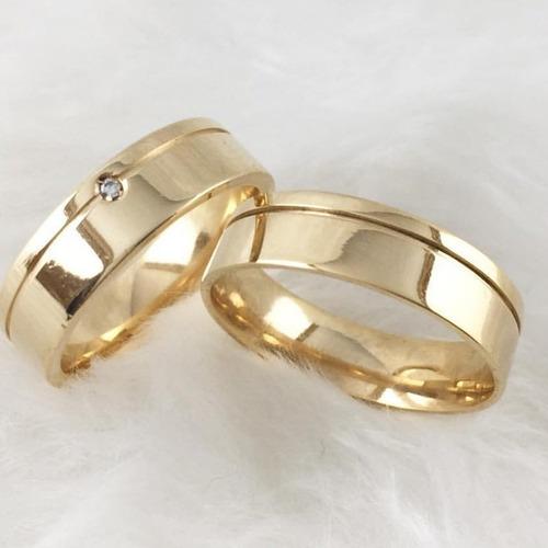 par aliança 6mm moedas antigas casamento e noivado abaulada