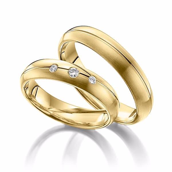 1fed74f2dbc Par Aliança Casamento Noivado Ouro 18k 750 - Paris - R  1.069