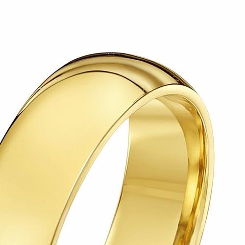 par aliança em ouro 18k 10 gramas 5mm