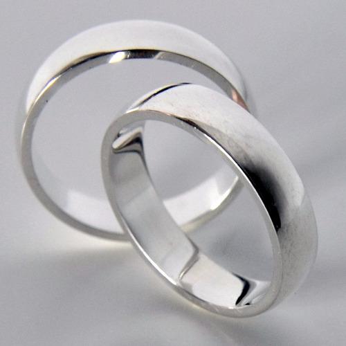 par aliança prata compromisso namoro