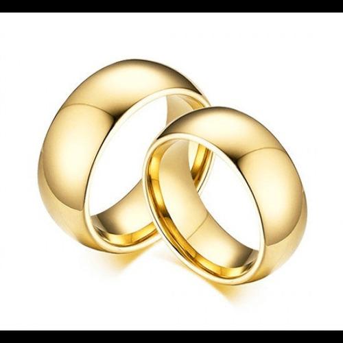par aliança tungstênio 8mm compromisso noivado casamento