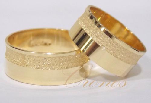 par alianças 22 grs ouro 18k  frete 12 x sem juros lindas!!!