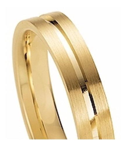 par alianças de ouro 18k 14 gramas 1 brilhante frete grátis