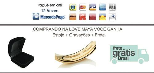 par alianças de ouro 18k 18 gr 7mm frete grátis todo brasil