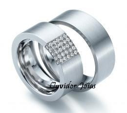 par alianças prata noivado, casamento  12 x sem juros!!!!!!!