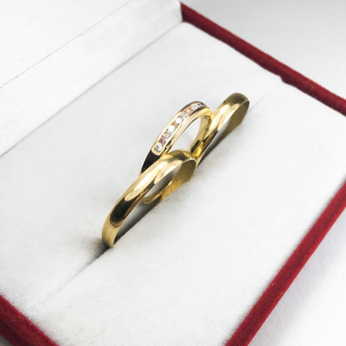 b326023cfb50 par alianzas + anillo oro 18k 3.2 gr casamiento compromiso. Cargando zoom.