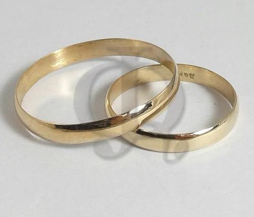 par alianzas oro 18k  casamiento 3 grs plan 12 cuotas