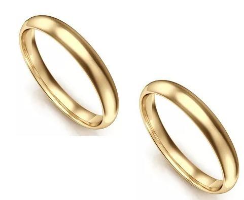 7997d375f6d4 Par Alianzas Oro 18k Clasicas 3 Gr Casamiento Muchas Cuotas ...