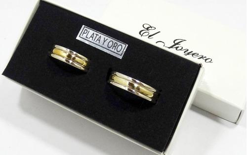 par alianzas plata 925 oro 18 k.  italianas grabados sin cargo novios promoción garantia escrita stock el trust joyero