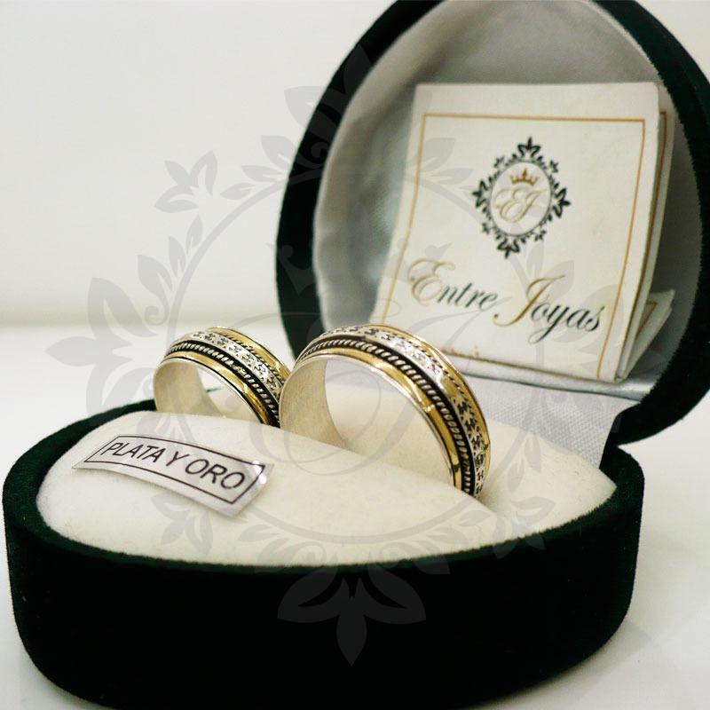 ae8e2828d745 par alianzas plata 925 oro 18k - casamiento matrimonio boda. Cargando zoom.