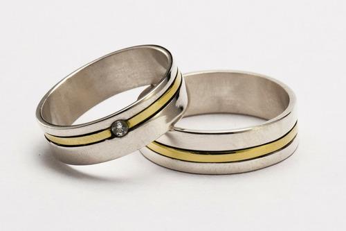 par alianzas plata 925 oro 18k gloss cristal swarovski grabados sin cargo garantía escrita estuche stock el trust joyero