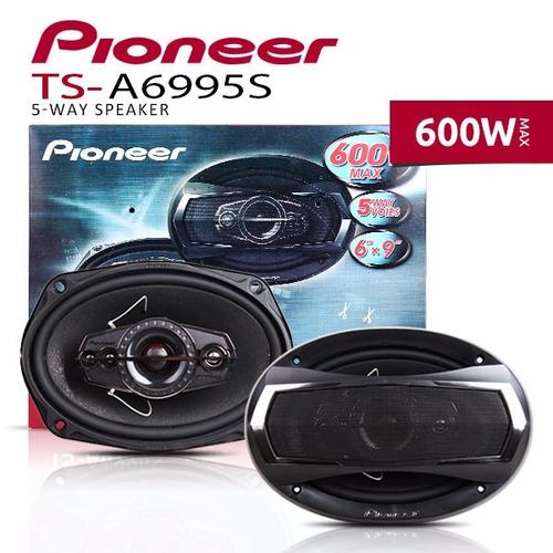 par alto falante pioneer 69 6x9 ts-a 6995s 600w - original