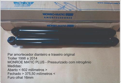 par amortecedor troller 1997 a 2014 monroe original