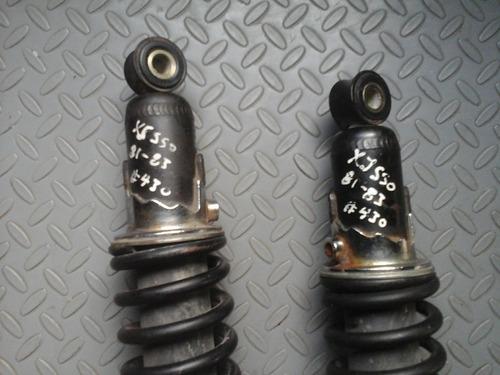 par amortiguadores traseros yamaha seca xj 550 año 82