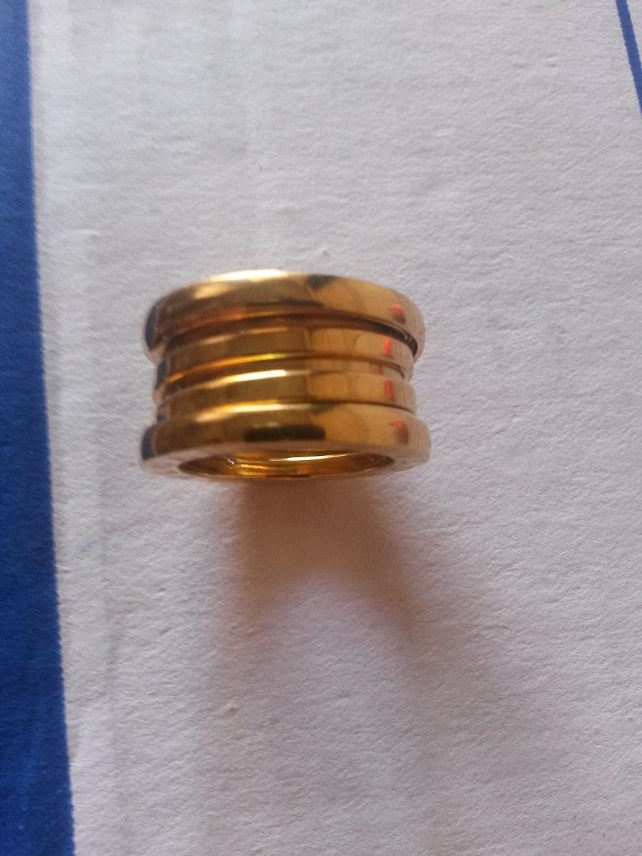 c6e672b364f par anel aliança bvlgari prata ouro 18k b zero. Carregando zoom.