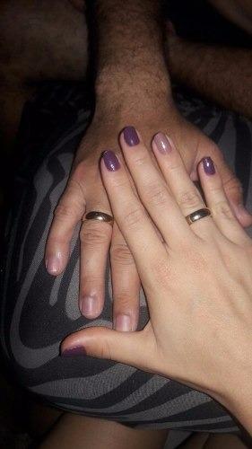 par argolla anillo compromiso,tallas 10 al 28 baño de or