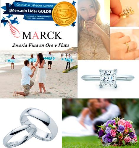 par argollas coronas plata .925 corazon amor boda pareja