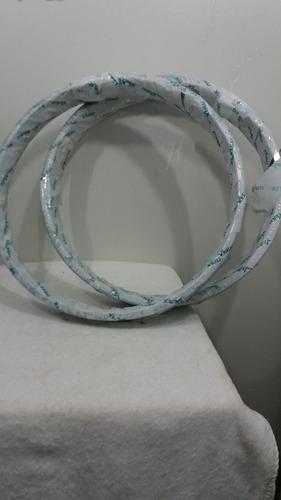 par aro cromado titan esd 125/150/fan +raios freio a disco
