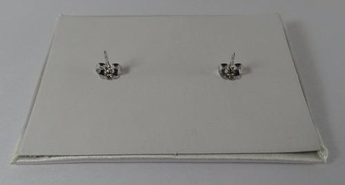 par aros perla española 6 mm maperla plateado ionizado gtia