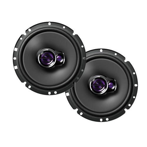 par auto alto falantes pioneer 6 polegadas + modulo taramps
