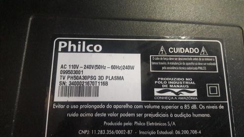 par auto-falante tv philco ph50a30psg 3d plasma