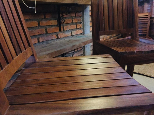 par bancos sillas
